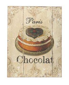 Dibor Mademoiselle Chocolat Painting