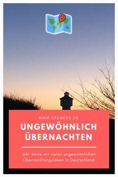 Wie wäre es mit einer ungewöhnlichen Übernachtung als Geschenk? Reisen In Europa, Europe Travel Guide, Germany, Blog, Inspiration, Unusual Hotels, Biblical Inspiration, Deutsch, Blogging