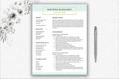 To get the job, you a need a great resume. The professionally-written, free resume examples below can help give you the inspiration you need to build an impressive resume of your own that impresses… Resume Words Skills, Resume Writing Tips, Resume Tips, Resume Cv, Cover Letter Design, Cover Letter Template, Letter Templates, Best Resume Template, Cv Template