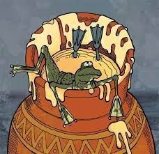 """Мудрости.. Или казусы? Или как остаться оптимистом:-): """"Попала, как лягушка в банку с молоком."""" Если, бы ..."""