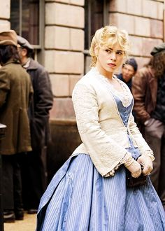 Billie Piper as Sally Lockhart in The Ruby In The Smoke (2006).