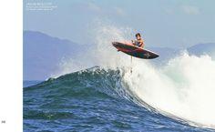 Noosa's ace ambassador Keahi De Aboitiz comin' up for air | Photo by JASON WOLCOTT