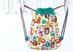 Appealing and practical backpack for kids, you can use it to take lunch, clothes, toys,…https://www.etsy.com/shop/Bibadu