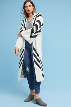 Mod Chevron Kimono