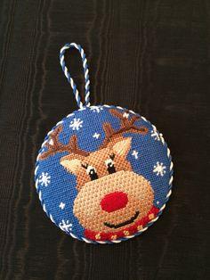 Reindeer Ornament ~ Canvas design by Pepperberry Designs