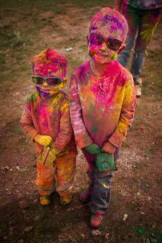 Holi Festiva; #Holi #Festival #India
