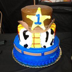 Rykers 1st birthday cake