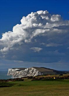 The back nine - Freshwater Bay Golf Club, Isle of Wight, UK | Flickr - Photo Sharing!