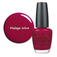 O.P.I Malaga Wine