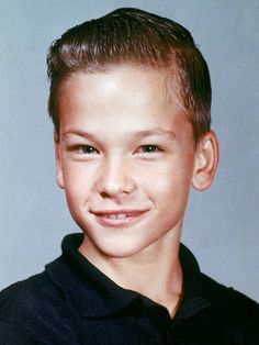 Patrick Swayze - very young