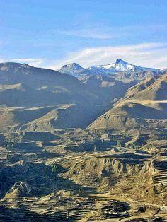 Colca Canyon, Peru http://incatrail.info #incatrail #machupicchu #peru