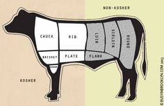An extensive guide to Kosher meat cuts & cooking methods. A must read for any cook!