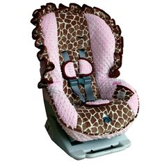Infant Girls Carseat Covers
