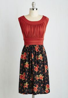 I Love Your Dress in Evening Roses, #ModCloth