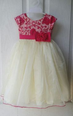 HappyShappy - India's Own Social Commerce Platform Cotton Frocks For Kids, Frocks For Girls, Little Girl Dresses, Girls Dresses, Flower Girl Dresses, Baby Dresses, Kids Dress Wear, Kids Gown, Baby Frocks Designs