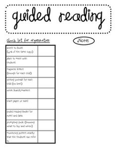 First year teaching and I am so overwhelmed with guided reading, just found this and I plan on using it!! great! quick and dirty!
