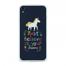 Capa Gel Alcatel OneTouch Idol 3 5.5 BeCool Just Believe in Your Dreams