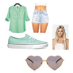 Untitled #18 by maddieje on Polyvore featuring polyvore, fashion, style, maurices, Vans, Wildfox and With Love From CA