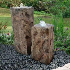 Costco: Double Rock Bubbler Garden Water Feature