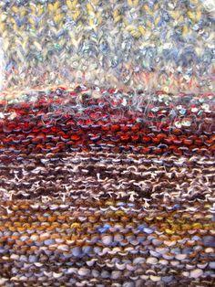 Coolclimates fiber and handpun yarn | Knitted Journey: Icelandic landscape