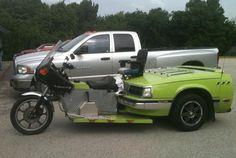This motorcycle. | 20 Of The Best Redneck Repair Jobs