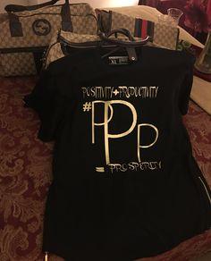 #PPP LOGO BLACK SMSWAG SHIRT