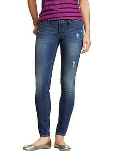 Womens The Rockstar Super Skinny Jeans - Get ready to rock! These denim leggings have just the right amount of stretch to keep you jamming in the style spotlight.