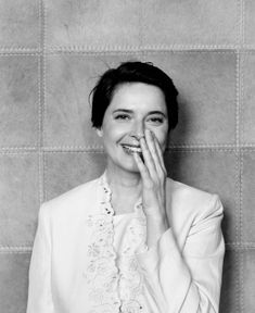 At least one dinner party guest should have an accent...and a real one: Isabella Rossellini