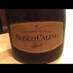Ronco Calino Franciacorta Brut. Magnificent.