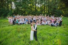 Adorable group wedding shot | Image by Photo by Betsy