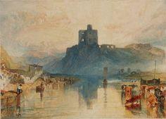 Norham Castle on the Tweed, 1822-23. Joseph Mallord William Turner.