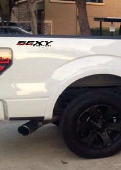 """Ford,Chevy,Gmc,Dodge 4x4 SEXY edition decal 17"""" x 4"""""""
