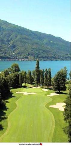 Playing Golf in Ticino is amazing! Golf Club Patriziale Ascona.  Ticino #bestofswitzerland