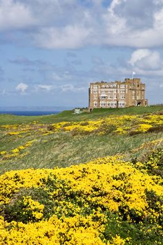 Camelot Castle Hotel, Tintagel, North Cornwall, England