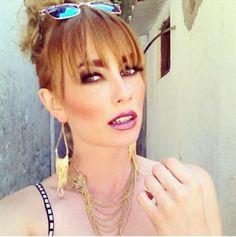 Miss Austria, Ena Kadic perfekt gestylt für das exklusive Bikini-Shooting für Madonna in Griechenland