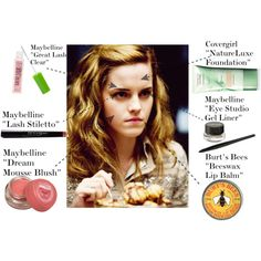 Well. Put this with a curling iron and purple shirt/jean jacket, you'll be Hermione in no time (a love for homework is a given.)