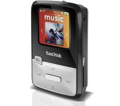 Sandisk Sansa Clip Zip - MP3 player - 8 GB  £45