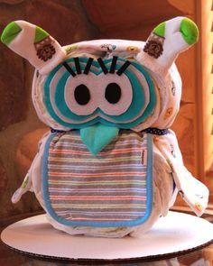 Jungle Theme Gender Neutral Girl or Boy Owl by BettyCakesBakery, $36.00