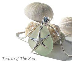 Sea Glass And Starfish Jewelry  Shelby... Here us your seaglass jewlery ;)