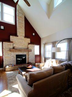 Modern rustic interior design by TVL Creative