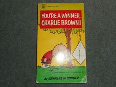 You're a Winner Charlie Brown, Charles Schulz, 1967 2nd Print, CREST BOOK, GUC