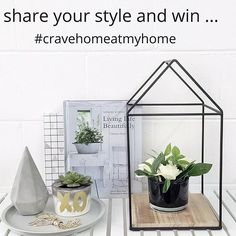 We are super excited to launch our #cravehomeatmyhome monthly competition! Just style your cravehome purchases at your place, tag @cravehome, use the #cravehomeatmyhome hashtag and be in to win a $50 gift voucher every month! (You may need to amend your privacy settings for a little bit x) Happy snapping  #interiors #instacomp #shareyourstyle #shelfie #flatlay #cornerofmyhome #cravehomeatmyhome #win #homewares #cravehome #beautifulliving