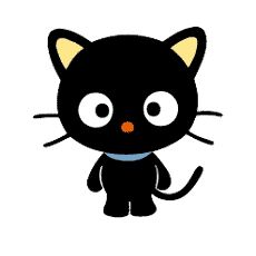 Chococat Sanrio - A black cat with no mouth like Hello Kitty. Sanrio Hello Kitty, Hello Kitty Characters, Cute Characters, Hello Kitty Imagenes, Animal Gato, Keroppi, Character Wallpaper, Fandom, Softies