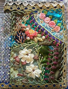 CrazyQuilt Bag 104x | embellished crazyquilted bag | Debbie | Flickr