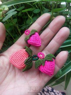 萌萌哒 斜卷结 草莓