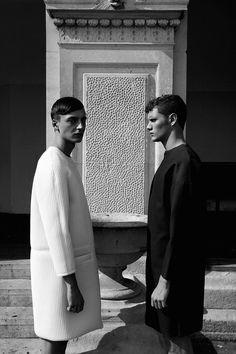 """PYGMALIONS""| Filip Bala & Joan Pedrola photographed by Krzysztof Wyzynski and styled by Tomas Toth"