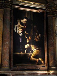 MADONNA DI LORETO - Caravaggio Cappella Cavalletti della basilica di Sant'Agostino a Roma