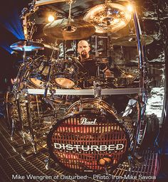 Sic•Skinz - Designs - Mike Wengren - Disturbed