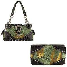 Real Tree Camouflage, Pink Camouflage, Concealed Carry Handbags, Mossy Oak, Zipper Pouch, Shoulder Bag, Purses, Wallets, Fashion