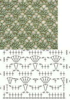 Lovely lacy crochet stitch~ by jacklyn